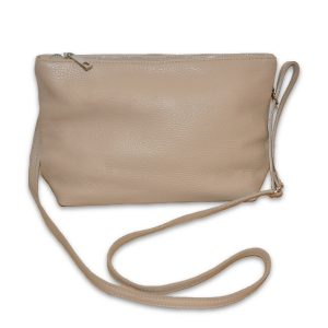 Cross-Body Leather Small Handbag